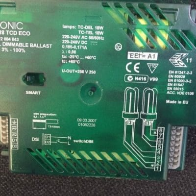 Tridonic TCD Dimmable High Frequency Ballast