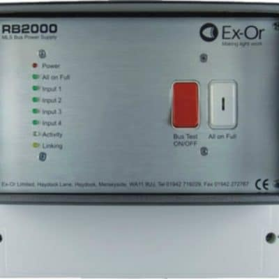 Ex-Or RB2000 MLS Bus Power Supply
