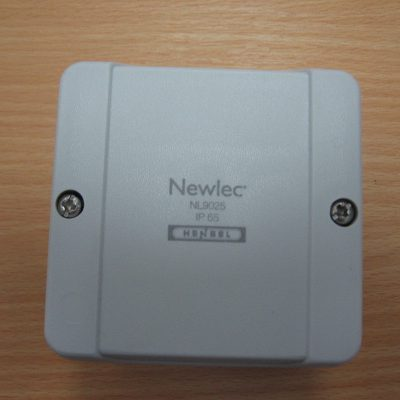 Newlec molded junction box
