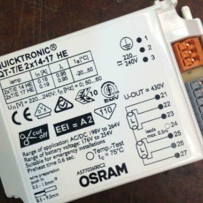 Osram Quicktronic ballast