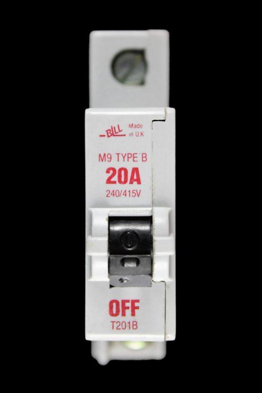 Bill M9 Type 3 Circuit Breaker 20A