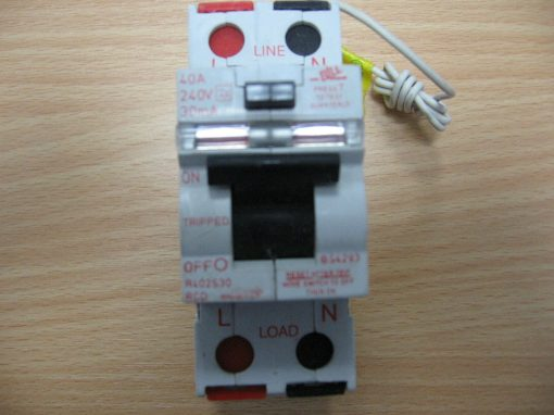Bill Mains Switch 40A