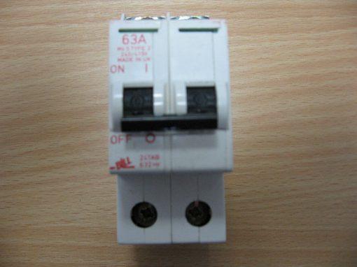 CIRCUIT BREAKER Bill 63A Type 2