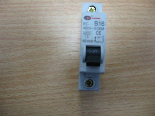 Control Gear B16 Circuit Breaker