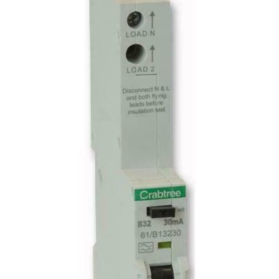 Crabtree RCBO 61/B13230 32A