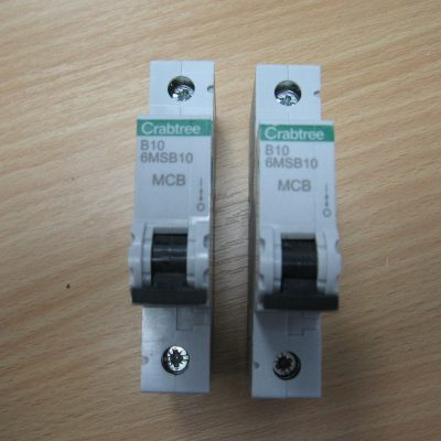 Crabtree Circuit Breaker B10/6MSB10
