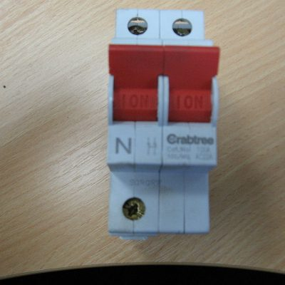 Crabtree Mains Switch AC22A