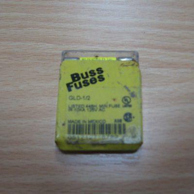 Bussmann Fuse GLD 1/2 min