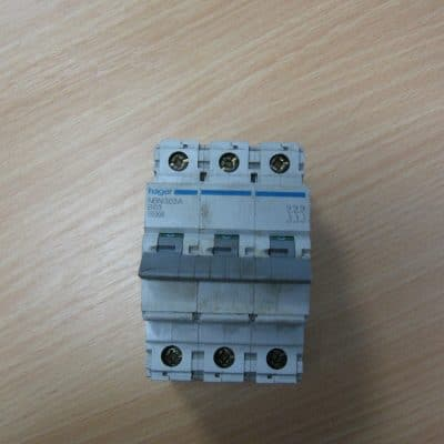 Hager NBN 363A B63 3Phase Circuit Breaker