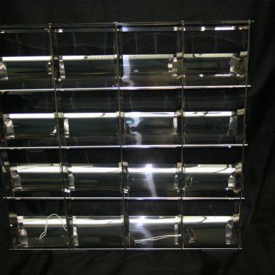 Steeple louvre 24mm grid