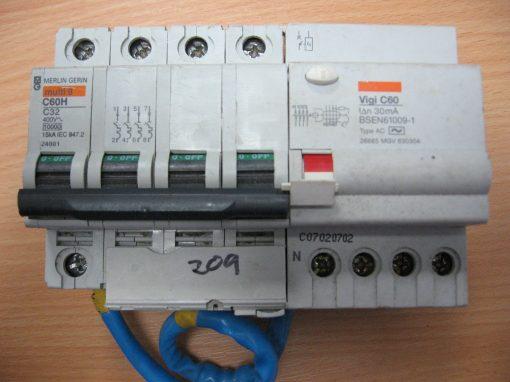 Merlin Gerin Multi 9 C60H C32 and VIgi C60 26665