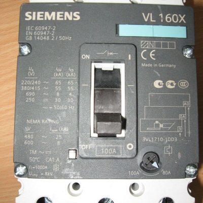 Siemens VL160X 3Pole (3VL1710-1DD3)