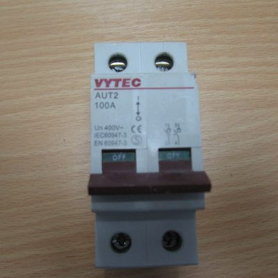 Mains Switch Dis-connector AUT2 VIS100