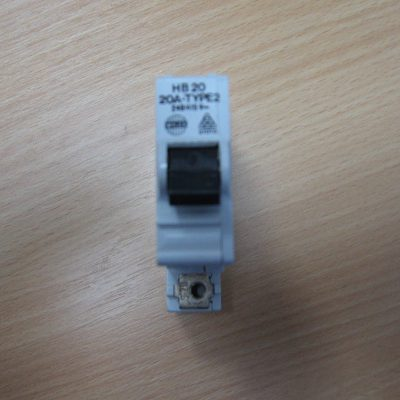 Wylex Circuit Breaker HB20 TYPE 2