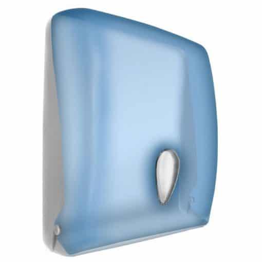 Aquarius Blue Paper Towel Dispenser