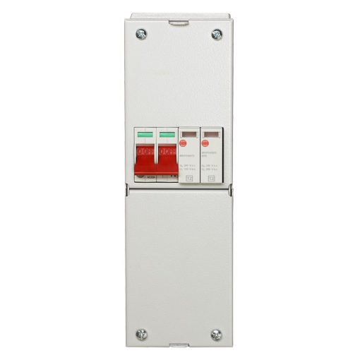 WYLEX 100A ISOLATOR AND SURGE ARRESTER TYPE 2 LARGE METAL ENCLOSURE