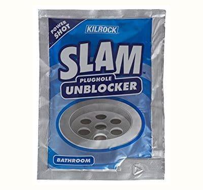 SLAM Bathroom Drain Unblocker